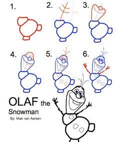 Drawings Olaf