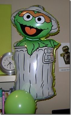 Oscar the Grouch Birthday Party