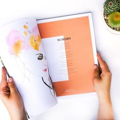 Darling Magazine layout