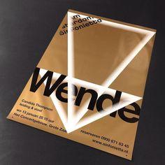 giorkonducta:  New Amsterdam Sinfonietta Poster for #studiodumbar by vincentvrints http://ift.tt/1PVg0Nt