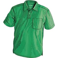 Be drier, more comfortable year round without giving up the soft cotton feel in a wicking men's CoolMax Cotton Longtail T Polo Shirt. Only at Duluth Trading.