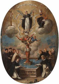 Hispano-Flemish School, THE GLORIFICATON OF THE SACRAMENT, Auction 1008 Paintings 15th - 19th Century, Lot 26
