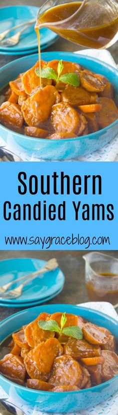 How To Fix Candied Yams {Southern Candied Yams Recipe} Best Candied Yams Recipe, Southern Candied Yams, Candied Sweet Potatoes, Yam Or Sweet Potato, Sweet Potato Casserole, Sweet Potato Recipes, Thanksgiving Side Dishes, Thanksgiving Recipes, Turkey Ribs