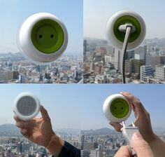 Window Sockets Generate Solar Power