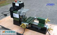 Mini torno con pantalla Digital J1001-A micro, Xendoll máquina