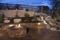 backyard retaining wall - Google Search