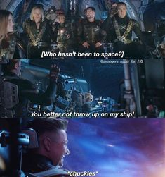 There are 3 captains on this ship: Captain America, Captain Marvel, and Rocket raccoon Marvel Avengers, Marvel Comics, Memes Marvel, Avengers Memes, Marvel Funny, Avengers Cast, Captain Marvel, Captain America, Hulk