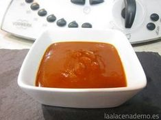 Receta de salsa barbacoa con Thermomix Bellini, Desserts, Recipes, Robot, Barbecue Sauce Recipes, Puddings, Dressings, Pork, Preserves
