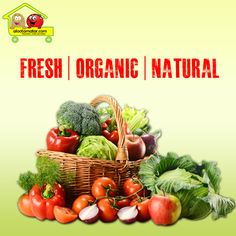 Buy fresh & organic #vegetables / #fruits online at Alootamatar: Place your order now: www.alootamatar.com