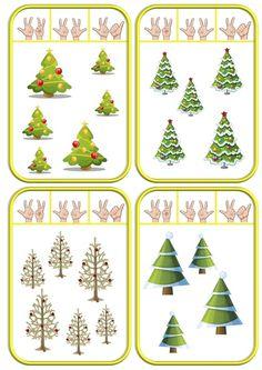 Cartes à pincer de Noël