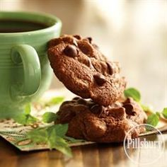 Whether you're entertaining guests or simply need a recipe for dessert, try this awesome recipe for Chocolate-Mint Brownie Cookies from Pillsbury™ Baking!