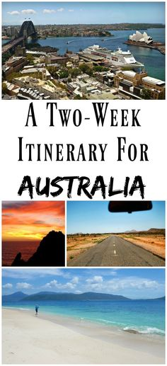 PIN FOR LATER: A two week travel itinerary for Australia! See the best of Australia in just 14 days by following this guide from someone who has lived in two different states.