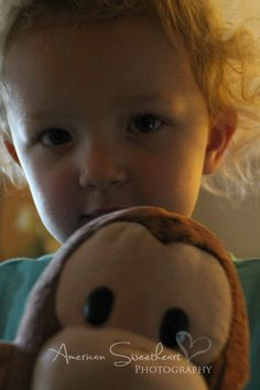 a girl and her monkey. ©American Sweetheart Photography 2012
