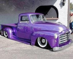 Another Purple Classic Truck