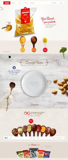 http://www.siaperitivos.com/en/ #web #ui #food #photography