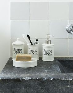 badkamer accessoires riviera maison - Google zoeken