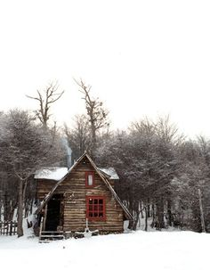 """This reminds me of Gordon Lightfoot's, """"Song for a Winter's Night"""". Bet it's toasty inside...smoke rising from the chimney."""