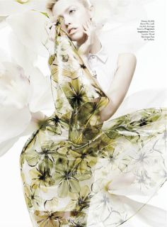 rhapsody in blooms: cora keegan by jean francois campos for us marie claire january 2013