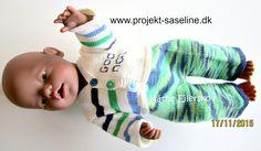 Baby born opskrifter 43 cm. strikkeopskrifter til dukker
