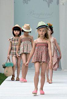 Le défilé 2014 - Bonpoint boutique #kidsfashion