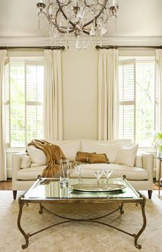 So simple. So elegant. So well done. Interior by Linda McDougald