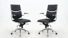 Manhattan Comfort Ergonomic High Back Verdi Office Chair - Set of 2