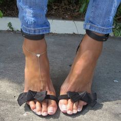 $3.14 Cool Heart Design Anklet For Women