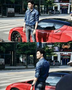 Lee Jung Suk looking fine in W-Two Worlds