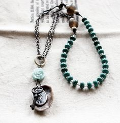 """""""Melody"""" necklace by Rebecca Sower, via Flickr"""