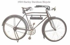 harley davidson bicycle 1920