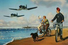 Balboa Rendezvous | Stan Vosburg Aviation Art