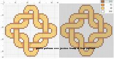 135 Free cross stitch designs celtic knots 1 stitchingcharts borduren gratis borduurpatronen keltische knopen kruissteekpatronen