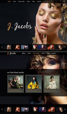 J Jacobs Moto CMS HTML Templates by Dan