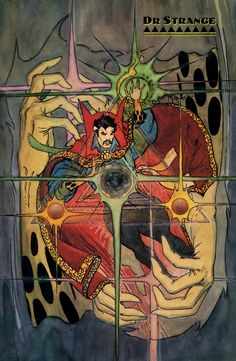 Doctor Strange by Michael W. Kaluta