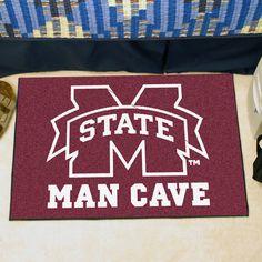 Collegiate Mississippi State University Man Cave Starter Area Rug