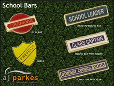 We are very glad to supply & to many Schools and Educational Institution in the Australia :) School Badges, British Schools, Student Council, Name Badges, We Are The Ones, Australia, Culture, Education, Jewelry Findings