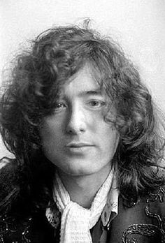 Jimmy Page, rare shot 1976.