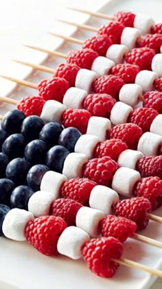 Berry Patriotic Kabobs