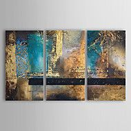 Hand-Painted+Abstract+Horizontal+Three+Panels+Canvas+Oil+Painting+For+Home+Decoration+–+GBP+£+119.99