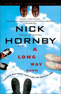 A Long Way Down, by Nick Hornby, very very ably read by Scott Brick, Simon Vance & Kate Reading. Only Hornby could make an hilarious story out of 4 suicidal folks who meet on New Year's Eve on a roof. Amazing!