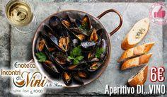 Aperitivo DI...VINO Da Enoteca Incontri Di...Vini & Mare http://affariok.blogspot.it/