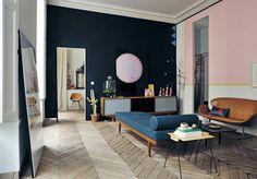 Mid-Century Wohnzimmer by Gestalten
