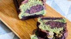 Cake Marbré Chocolat & Thé Vert Matcha