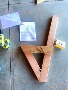 assemble cedar bench base