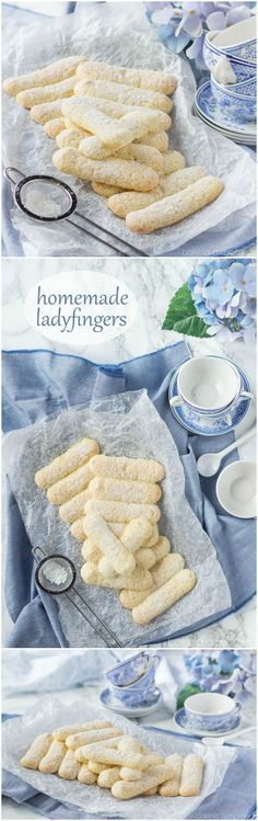 Homemade Ladyfingers