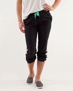 Another favorite workout staple! Lululemon Work It Out Track Pant, $108