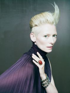 Tilda Swinton -Pomellato - Be Bling - Blog Jeanne - Be.com-photography: Paolo Roversi