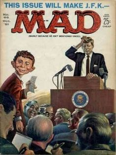 Mad Magazine No. 66, October 1961 - cover