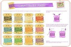 carretel de papel
