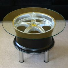 Ferrari Wheel Table